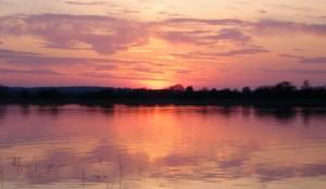 Breath taking sunset's